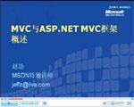 视频:MVC模式与ASP.NET MVC框架概述