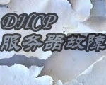DHCP和DNS常见故障