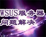 WSUS服务器问题解决一例