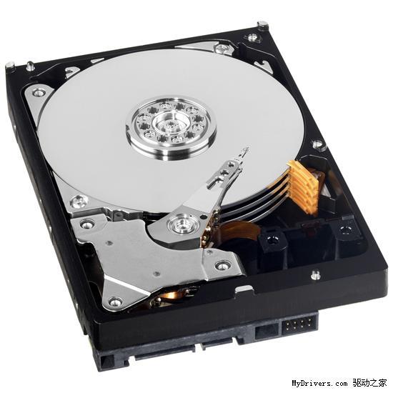 西部数据发布业界首款2TB硬盘