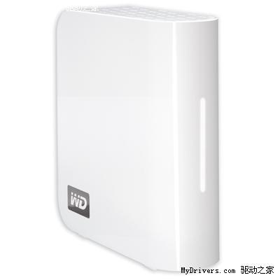 西部数据发布业界首款2TB网络硬盘