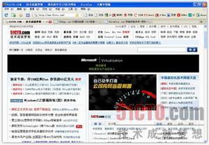 用Firefox浏览51CTO.com