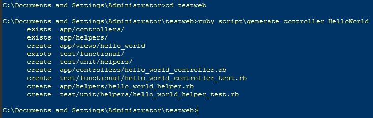 写一个HelloWorld的Web程序