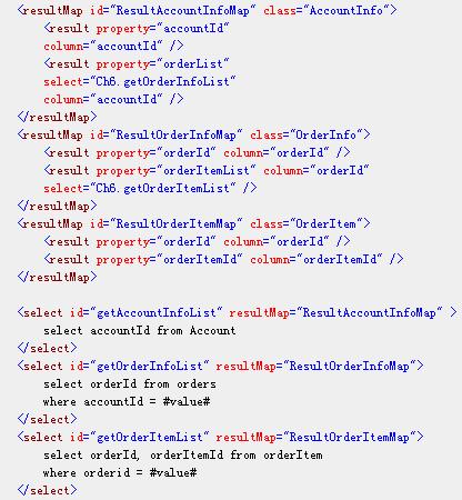 SQL映射