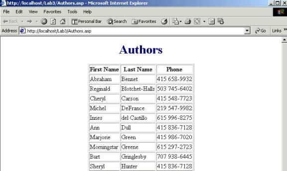 图2 ASP页面显示结果-分析ASP与ASP.NET的差异图片