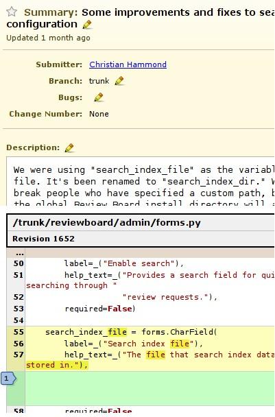 Review board 是一个 基于web 的工具