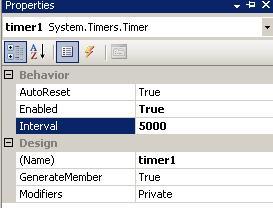 Timer控件的使用