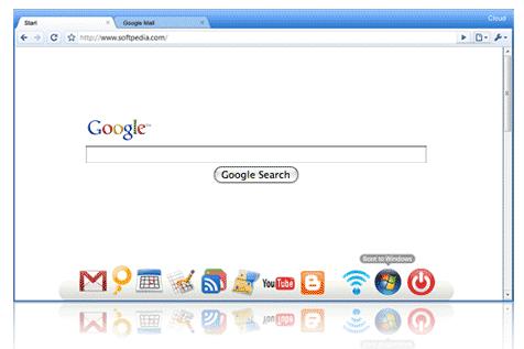操作系统 上网 linux/2. Linux上网本操作系统,gOS的Cloud 1.0