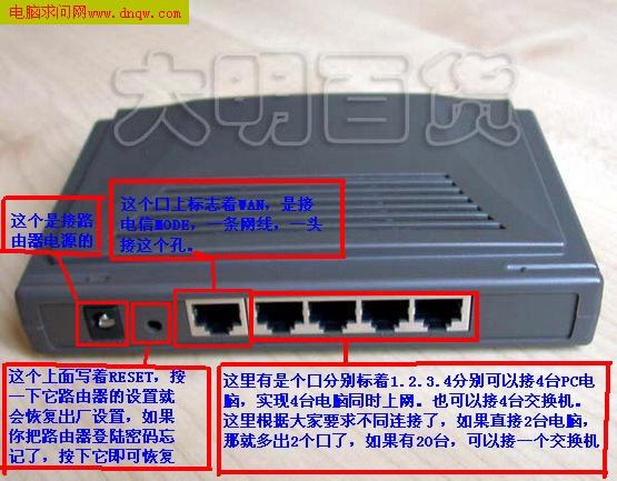 详解TP-Link路由器设置(图解)
