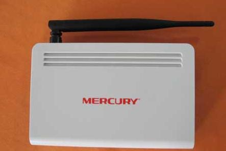 水星mw54r无线路由器外观图解