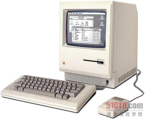 Macintosh拥有图像化的GUI
