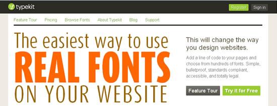 CSS3,HTML5andFontsasaService