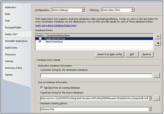 Deploy SQL