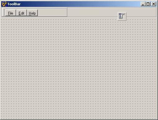 C++Builder只是一个ISO标准,标准中规定了C++的基本语法以及这些语法对应的语义(可以简单理解为语法的含义),要将C++真正地应用在实际的程序设计中,只有一个标准是不够的。 TControlBar+TToolbar+TImageList这种方法和以上的方法大同小异,只是把TCoolBar换成TControlBar就可以拉,这里不累赘说明。下图是其效果。  三.把下拉式菜单放到功能按钮菜单上  这是IE中最常用的菜单,在C++Builder可以轻易实现。 步骤一:在窗体(Form)上放置一个TMa