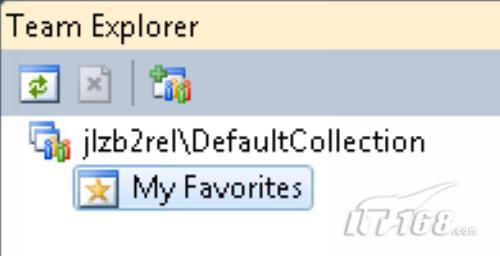 Team Explorer表