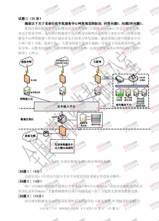 2010年上半年软考网络规划师下午试题7