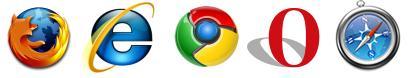 主流的五大浏览器都开始支持HTML5标准