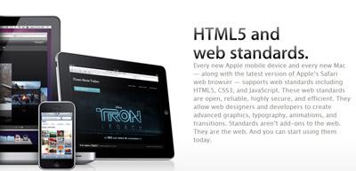 Apple推广HTML 5网站