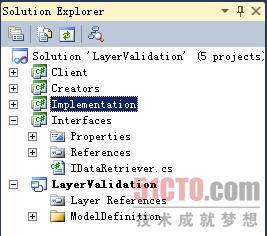 文档编辑窗口和Solution Explorer
