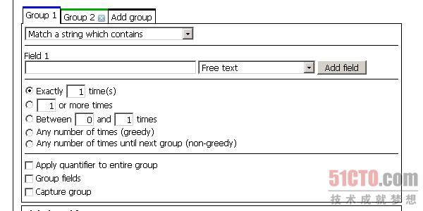 Regular expression generator