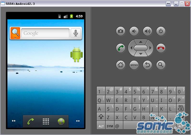 Android2.3安装成功