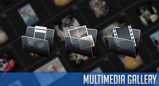 多媒体图库Imaggini,视频和音频