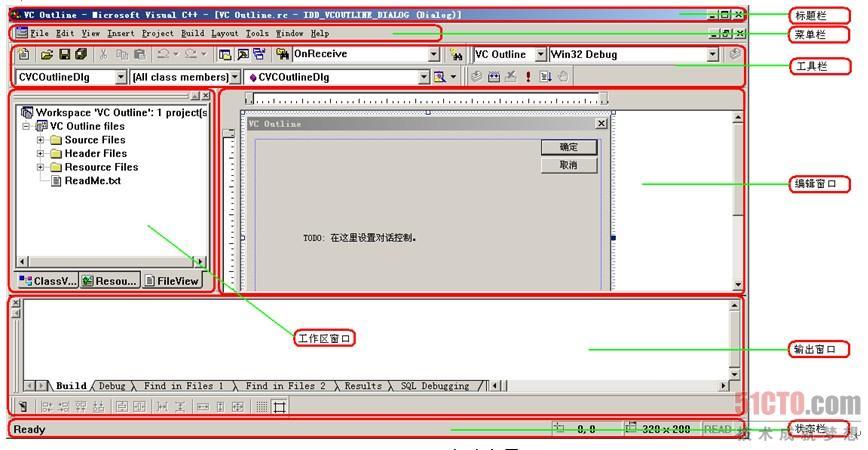 visualc++6.0集成开发环境(1)
