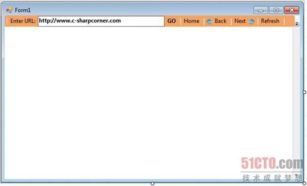 调整WebBrowser控件的大小