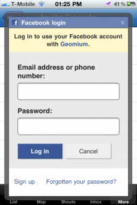 Facebook iOS SDK