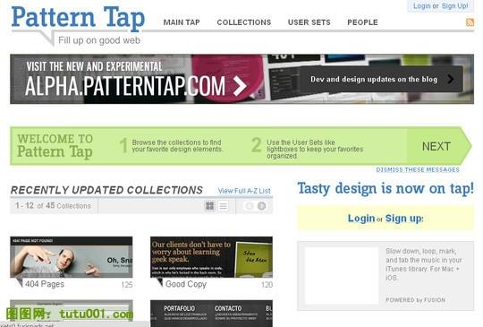 Pattern Tap