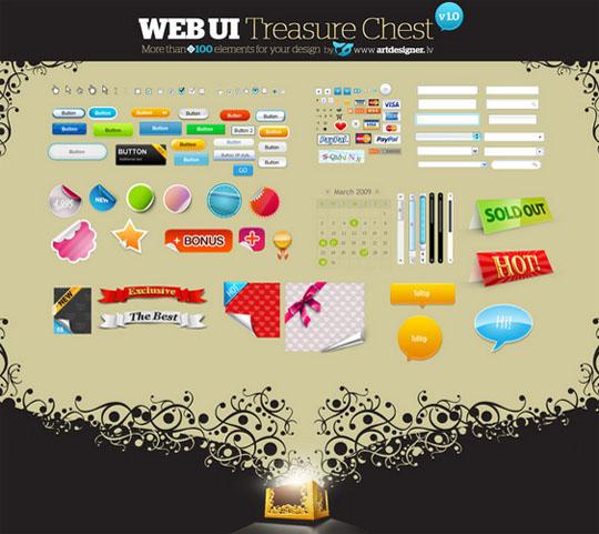 Web UI 百宝箱