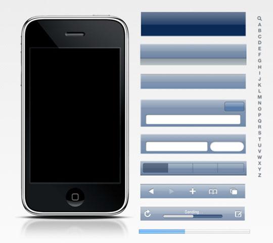 iPhone 3G 模板