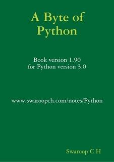简明 Python 教程 ( A Byte of Python )