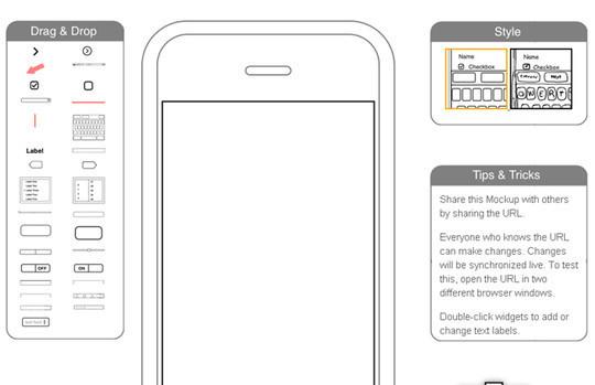 iPhone Mockup Web App