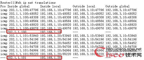 实例解析动态NAT配置