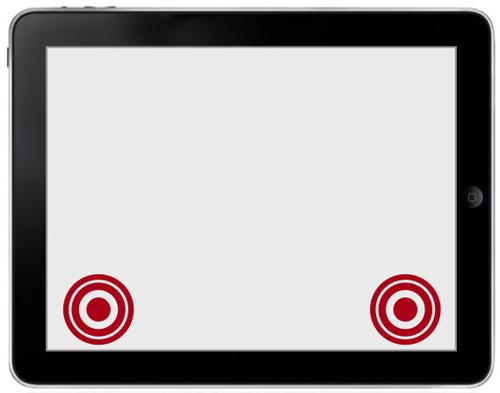 图:静态控制:VJR仅显示在屏幕固定位置