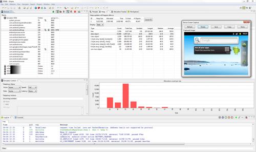 Dalvik Debug Monitor Server