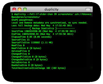 duplicity & rsyncrypto