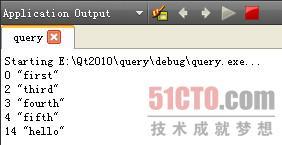 Qt数据库 利用QSqlQuery类执行SQL语句 下篇