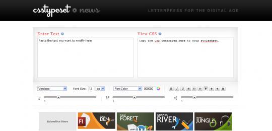 十大最佳免费CSS在线编辑器