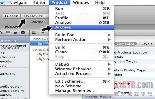 使用Xcode 4发布App 实例操作