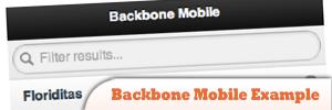Backbone移动实例