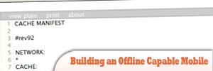 使用jQuery Mobile构建具有离线功能的移动网站