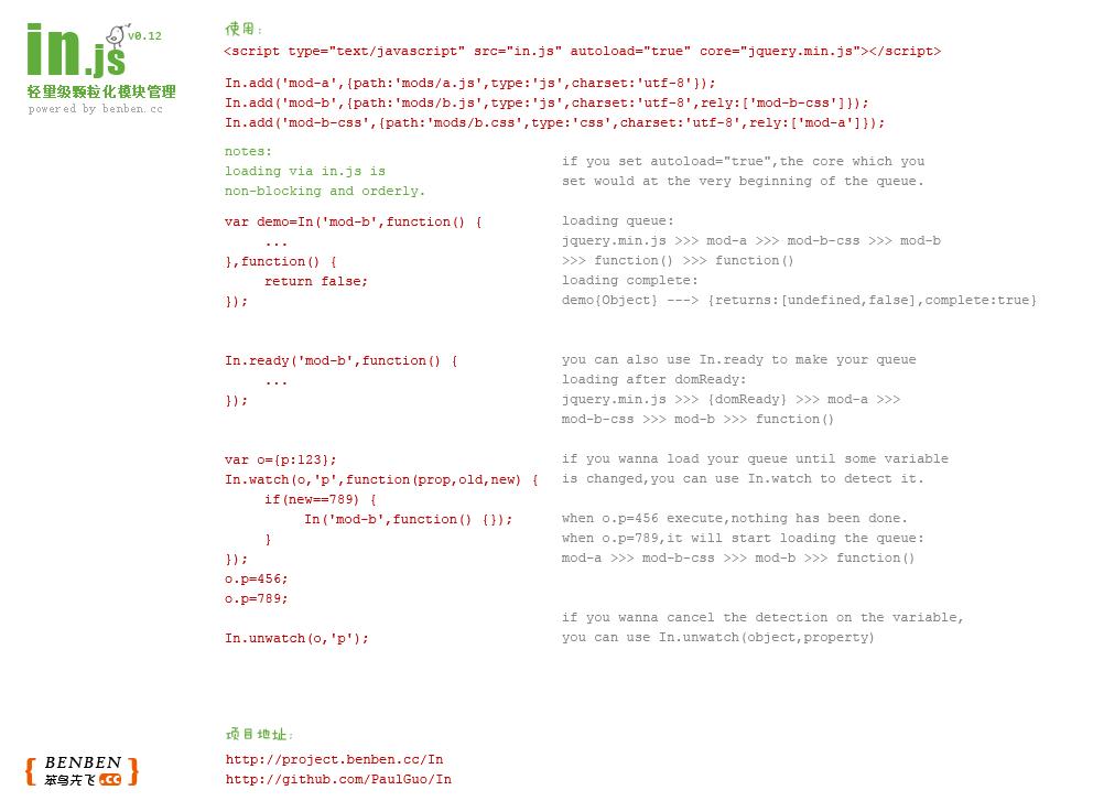 In.js Manual
