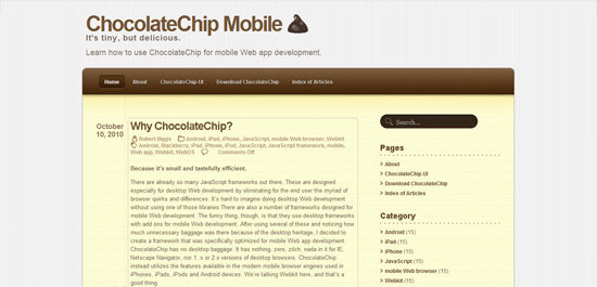 ChocolateChip Mobile