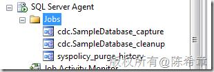 SQL Server 2008数据库中CDC的功能使用及说明