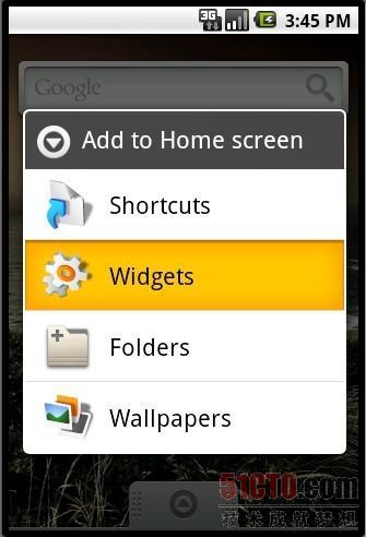 解析Android Widget开发案例实现