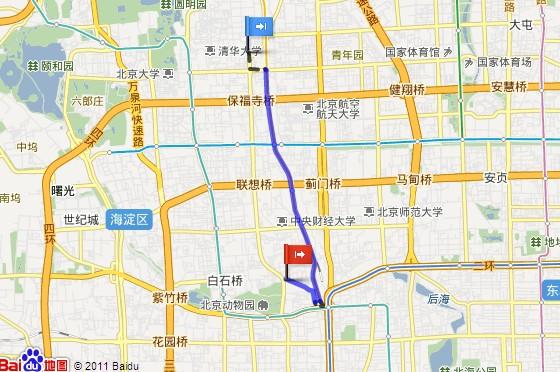 百度地图api之如何制作公交导航图片
