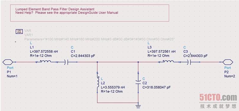 集总参数带通滤波器设计向导(2)