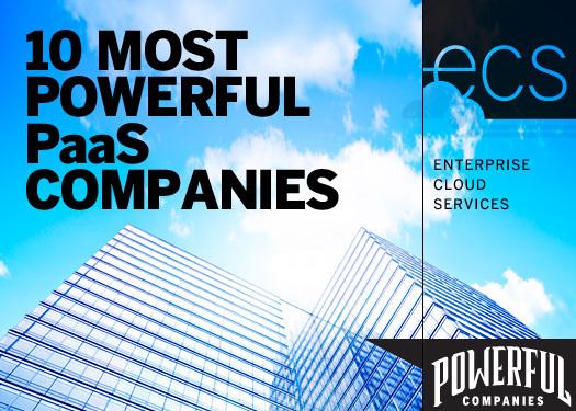 十大最具实力的PaaS公司